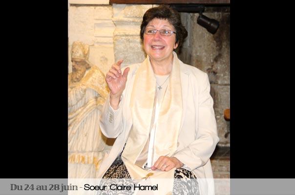 session IFHIM pour les jeunes moines et moniales Claire Hamel, ursuline du Québec