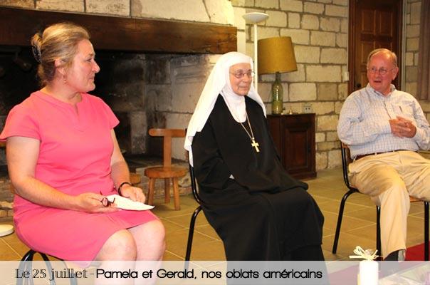 Pamela et Gerald – nous parlent de leur chemin depuis leur dernière visite