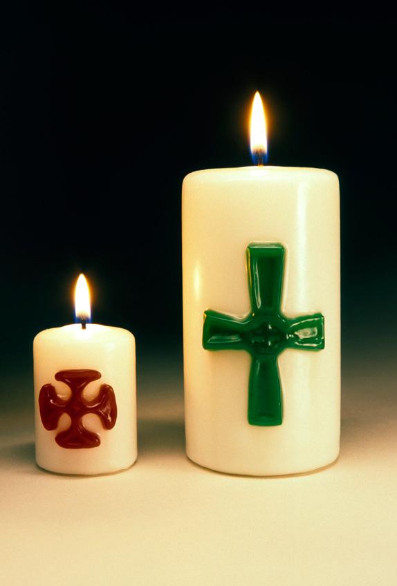 bougies-croix