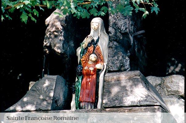 Statut de Sainte Françoise Romaine au Bec Hellouin