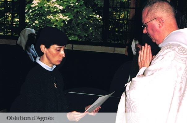 Oblation d'Agnès