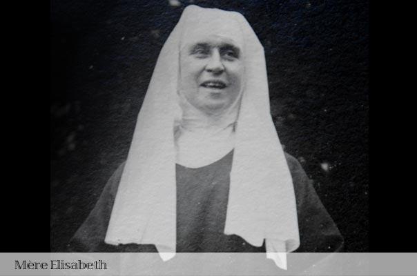 Mère Elisabeth, fondatrice de la communauté Sainte Françoise Romaine