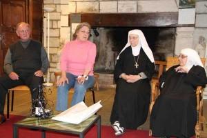Pamela et Gérald, nos oblats épiscopaliens américains