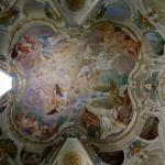 Chapelle St Bernard Tolomei, incontro mont Olivet