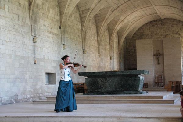 Concert de violon et orgue , Natacha Triadou