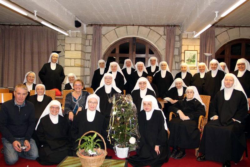 Chantal, Francis et la communauté