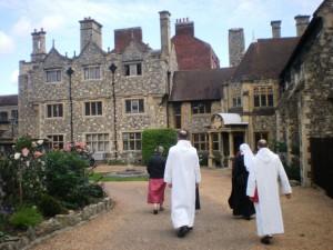 En allant chez l'archvêque O Canterbury
