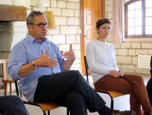 Père Maurice Joyeux et Cécile Deleplanque