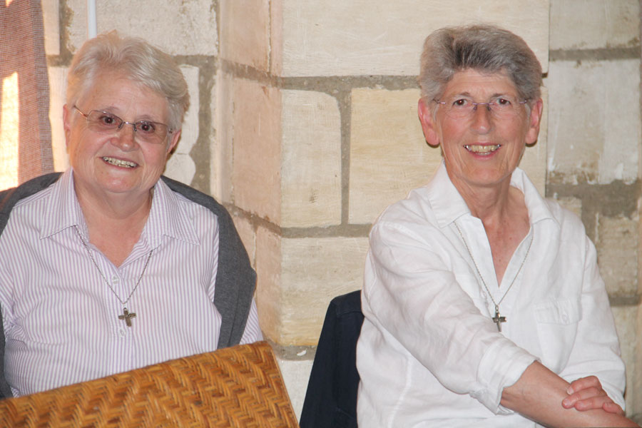 Soeur Anne et soeur Anne-Marie
