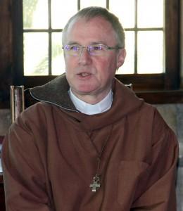 Frère Samuel au Monastere des bénédictines du Bec