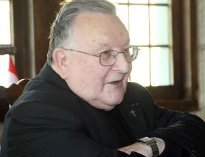 Père Verrier au monastere sainte francoise romaine