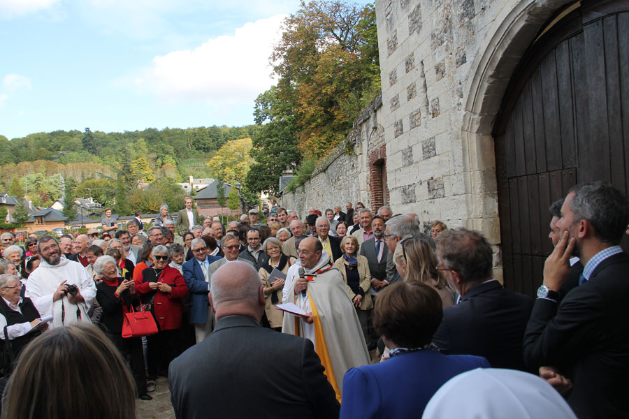 Inauguration Accueil St Benoît