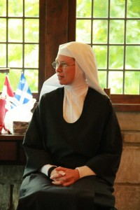 Soeur Marie-Madelaine d'Abu Gosh au Monastère