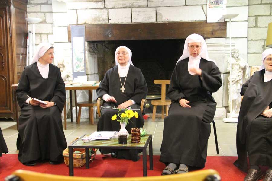 Soeur Marie d'Abu Gosh et Soeur Marie-Bénédicte