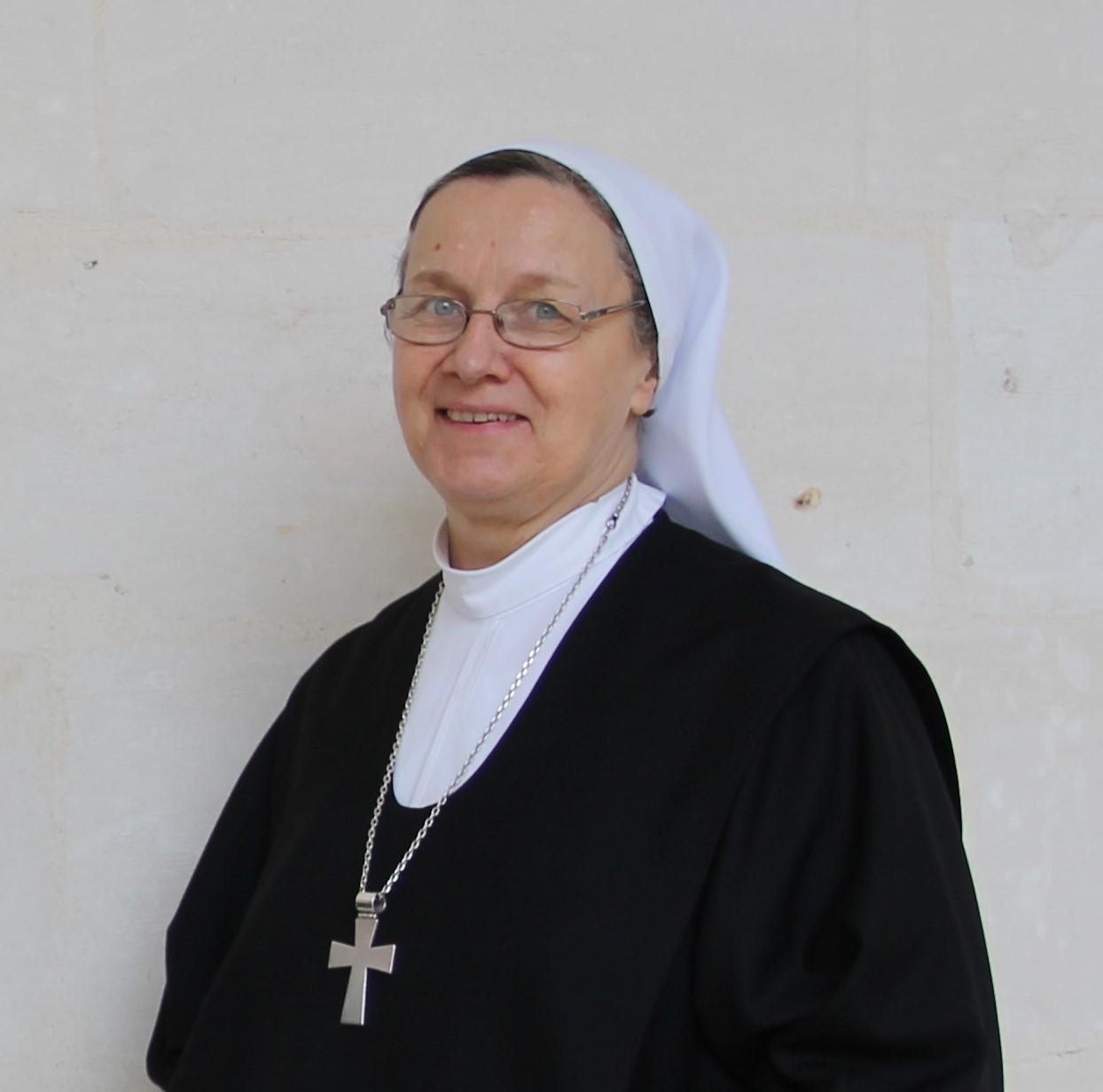 Mère Marielle, Mère Prieure du Monastère Sainte Françoise Romaine