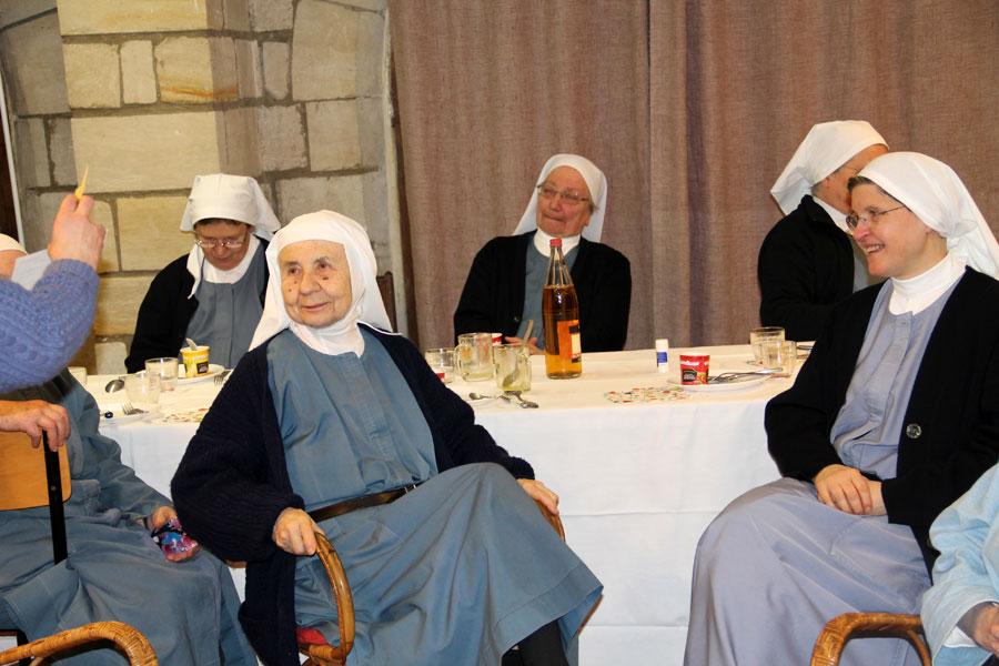 épiphanie au monastere sainte françoise