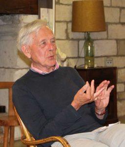 Roger Symon au Monastère Sainte Francoise Romaine
