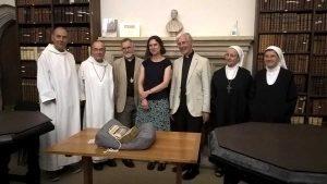 Visite des Bénédectines du Bec Hellouin à Canterbury