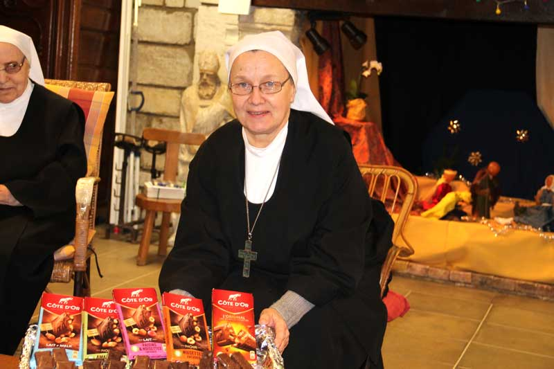 1 an de priorat Mère Marielle au monastère sainte francoise