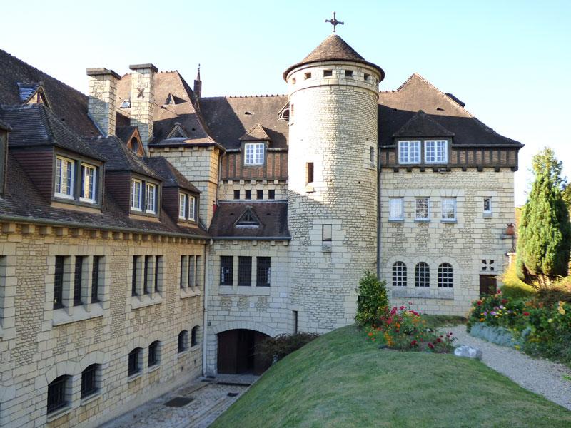 Monastere sainte francoise romaine, la tour